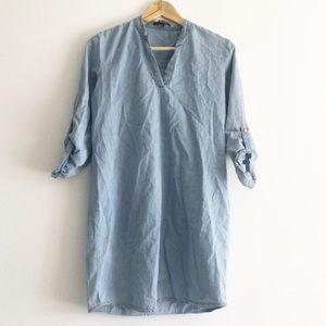 Impress Denim 100% Cotton Dress Small